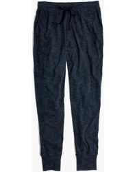 Madewell - Stay-in Pyjama Trousers - Lyst