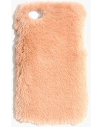 Madewell - Faux-mink Case For Iphone 7 - Lyst