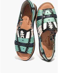 Chamula - Tm Classic Uxmal Huarache Sandals - Lyst