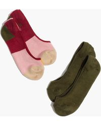 Madewell - Two-pack Colorblock Low-profile Socks - Lyst