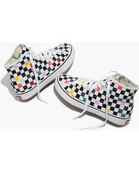 fd927c63d0c Madewell - Vans Unisex Sk8-hi Decon High-top Sneakers In Party Checkerboard  -