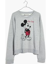 Madewell - X Mickey Mouse New York Sweatshirt - Lyst