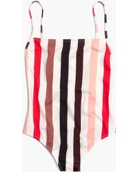Madewell - Solid & Striped® Chelsea One-piece Swimsuit - Lyst