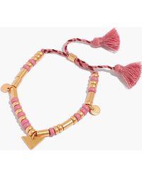 Madewell - Bead Mix Bracelet - Lyst