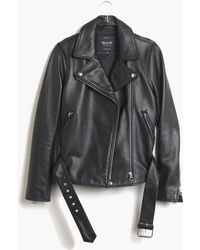 Madewell - Ultimate Leather Motorcycle Jacket - Lyst