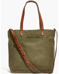 Madewell - The Canvas Medium Transport Tote - Lyst
