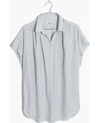 Madewell | Central Shirt In Erinn Stripe | Lyst