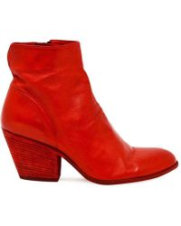 Officine Creative - Coral Leather Jacqueline/011 Ankle Boot - Lyst