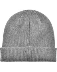 Lyst - Paul Smith Zebra Beanie Hat in Blue for Men - Save 21% b8e7b1f9e28b