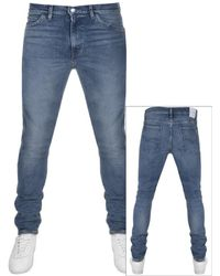 Levi's - Line 8 Skinny Fit Jeans Blue - Lyst