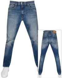 Calvin Klein - Jeans Athletic Taper Fit Jeans Blue - Lyst