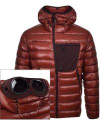 C P Company Cp Company Padded Jacket - Red
