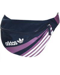 adidas - Originals 90s Sportivo Waist Bag Navy - Lyst