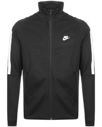 Nike - Tribute N98 Full Zip Track Jacket Black - Lyst a771d7871