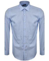 BOSS - Jerris Shirt Blue - Lyst