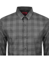 HUGO - By Boss Ero 3 Shirt Grey - Lyst