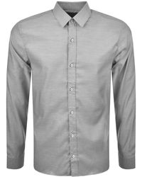 HUGO - By Boss Elisha 01 Shirt Grey - Lyst