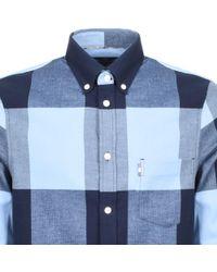 Aquascutum - Long Sleeved Gunn Shirt Blue - Lyst