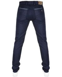 Paul & Shark - Paul And Shark Slim Fit Stretch Jeans Blue - Lyst
