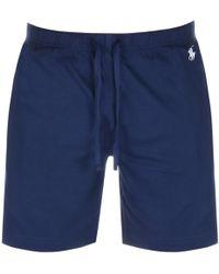 Ralph Lauren - Loungewear Shorts Navy - Lyst