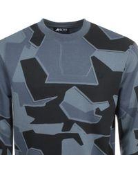 Fred Perry - X Arktis Sweatshirt Blue - Lyst