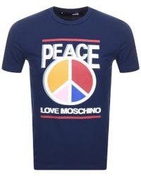ee02c341 Men's Moschino T-shirts Online Sale - Lyst