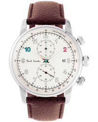 Paul Smith - Block Watch Brown - Lyst