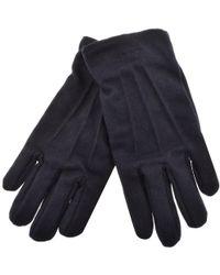 GANT - Melton Gloves Navy - Lyst