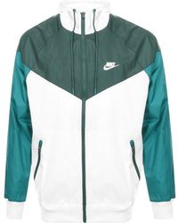 Nike - Nsw Windrunner Hoodie Jacket (white/space Purple/indigo Storm/black) Coat - Lyst