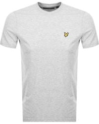 fae166466 Lyst - Lyle & Scott Crew Neck Short Sleeve T-shirt in Blue for Men