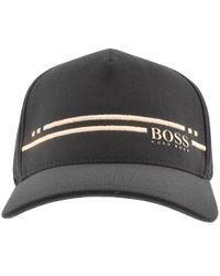 BOSS Athleisure - Striped Baseball Cap - Lyst