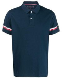Tommy Hilfiger - Taped Sleeve Polo Shirt - Lyst