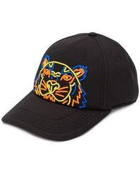 KENZO - Embroided Tiger Cap - Lyst