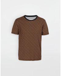 22a80f97191 Maison Margiela - 3-pack Stereotype Diamond Microprint T-shirt - Lyst