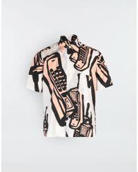 Maison Margiela - Camicia con stampa telefoni - Lyst