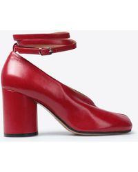 Maison Margiela - Tabi Ankle Strap Sandals - Lyst