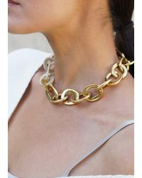 Maiyet - Horn And Gold Link Necklace - Lyst