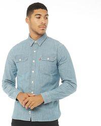 Levi's - Jackson Worker Shirt Guardsman Chambray - Lyst