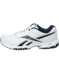 Reebok - Neche Dmx Ride Training Shoes White/navy/silver - Lyst