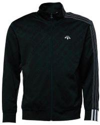 adidas Originals - X Alexander Wang Jacquard Track Jacket Green Night - Lyst