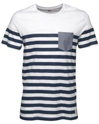Jack & Jones - Rajib T-shirt White - Lyst