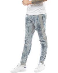 adidas Originals - Noize Marbled Sweat Trousers Solid Grey - Lyst