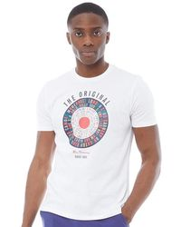 c536acbb6ea Jack   Jones Target T-shirt Port Royale in Red for Men - Lyst