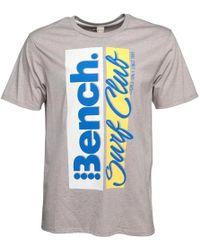 Bench - Corp T-shirt Grey - Lyst