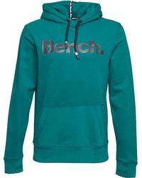 Bench - Core Sweat Corp Hoody Green - Lyst