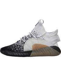 e5de9a0aa7cd9 adidas Originals - Tubular Rise Primeknit Trainers Footwear White/core Black/light  Grey Solid