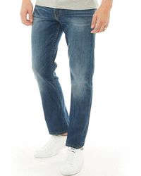 Levi's - 504 Regular Straight Fit Jeans Cloudy - Lyst