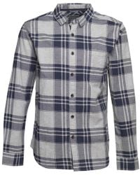 Bench - Flannel Check Shirt Blue - Lyst