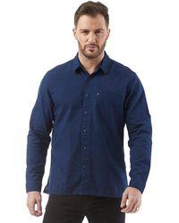 Levi's - Pocket Long Sleeve Shirt Bright Blue - Lyst
