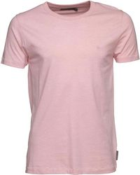 French Connection - Crew T-shirt Pink Melange - Lyst